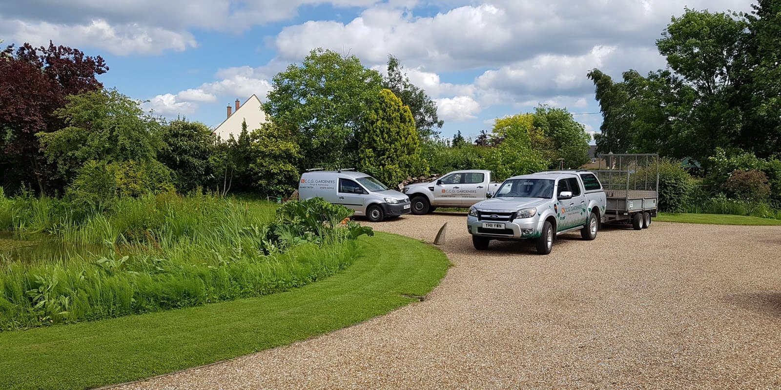 CCG Gardeners team for professional gardening services in Suffolk - slider