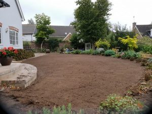 lay turf for new lawn in Suffolk