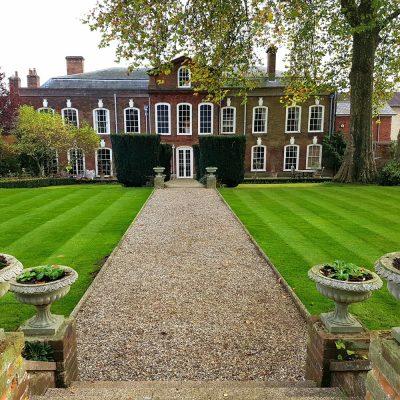 large garden lawn cutting Northgate street
