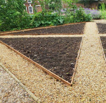 New feature garden area